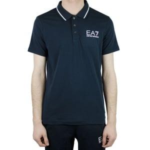 Ea7 Core Polo Shirt in Navy