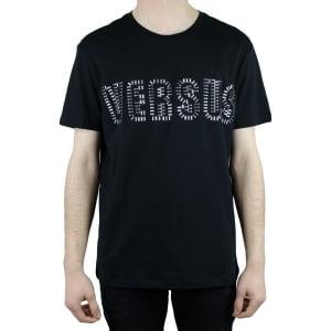 Versus Versace Stud Lines T-Shirt in Black