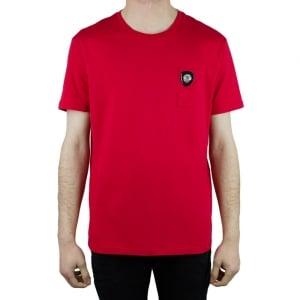 Versus Versace Crest T-Shirt in Red