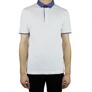 Collezioni Contrast 2 Polo Top in White