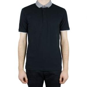 Collezioni Contrast 2 Polo Shirt in Black