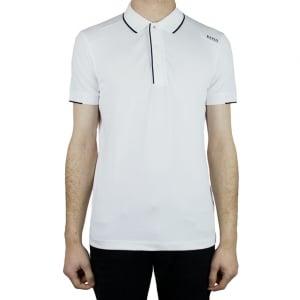 Boss Green Paule 1 Polo Shirt in White