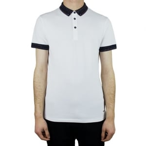 Boss Orange Pilipe Polo Shirt in White