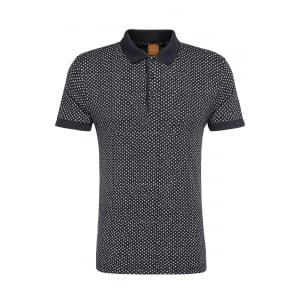 Boss Orange Palex Polo Shirt in Navy