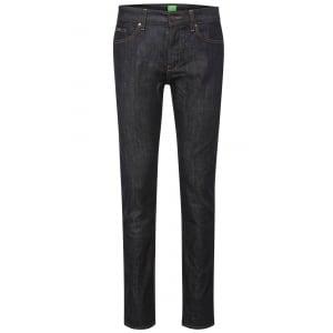 """Boss Green C-Delaware1 34"""" Long Leg Jeans in Dark Wash"""