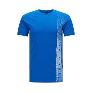 Boss Black RN Beach T-Shirt in Blue