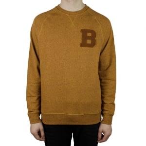 Barbour B Crew Sweatshirt in Rust