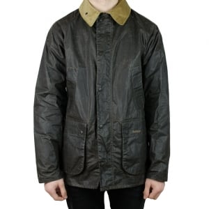 Barbour Truss Coat in Olive