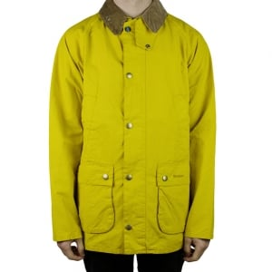 Barbour Bedale Coat in Yellow