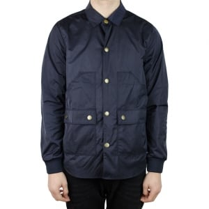 Barbour Alan Shirt Coat in Navy