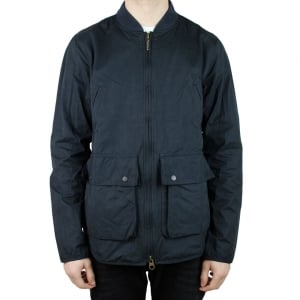 Barbour Camber Coat in Navy