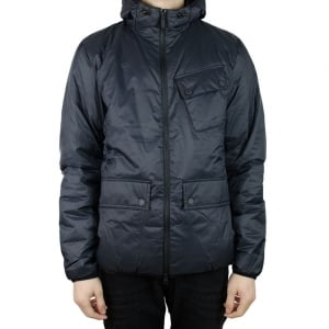 Barbour International Catcher Coat in Black