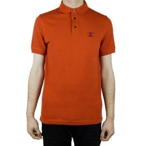 Barbour Joshua Polo Shirt in Red