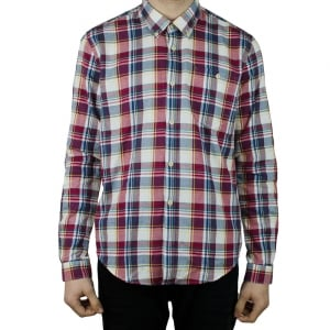 Barbour Oscar Shirt in Red