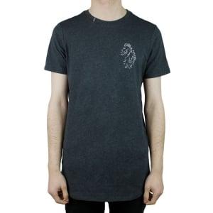 Luke Roper Bowen T-Shirt in Charcoal