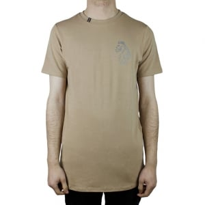 Luke Roper Bowen T-Shirt in Beige