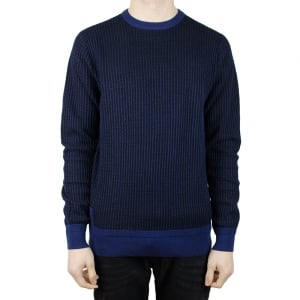 Luke Roper Simeon Knitwear in Navy