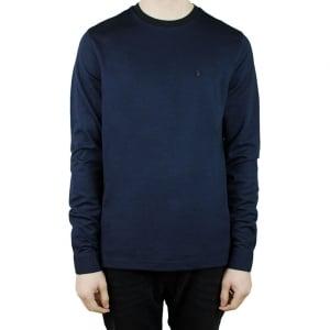 Luke Roper Long Special Charmers T-Shirt in Navy