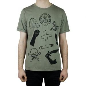 Vivienne Westwood Classic T-Shirt in Khaki
