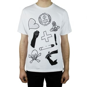Vivienne Westwood Classic T-Shirt in White