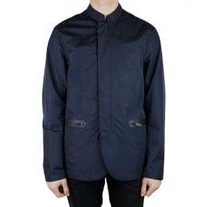 Armani Jeans Cabin Coat in Navy