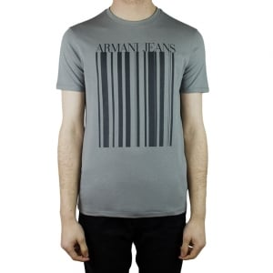 Armani Jeans Ink Jeans T-Shirt in Dark Grey