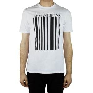 Armani Jeans Ink Jeans T-Shirt in White