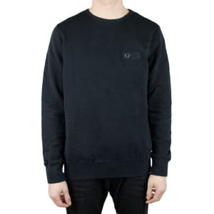 True Religion Metal Horse Logo Sweatshirt in Black