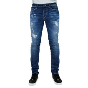 True Religion Rocco Skinny Superstretch Jeans in Mid Wash