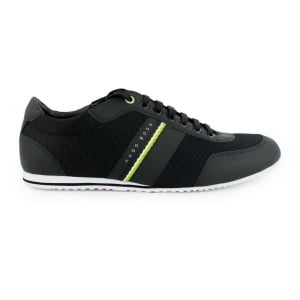 Boss Green Lighter_Lowp Nepr Trainers in Black