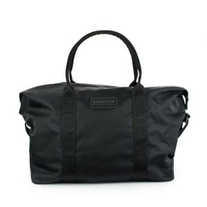 Barbour International Chicane Holdall Bag in Black