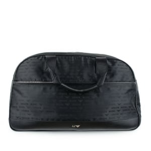 Armani Jeans Travel Bag in Black
