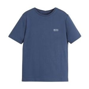 Boss Kids Core Tee T-Shirt in Blue