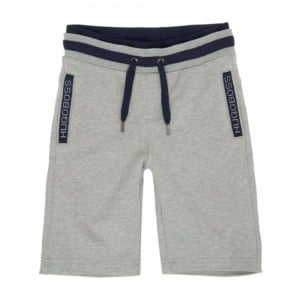 Boss Kids Burmuda Shorts in Grey