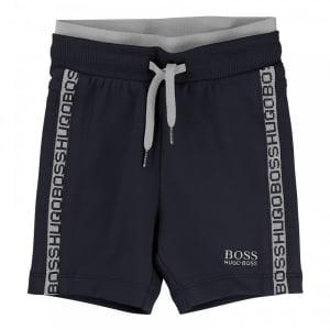 Boss Kids Burmuda Shorts in Navy