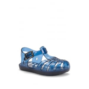 Boss Kids Jelly Sandals in Blue