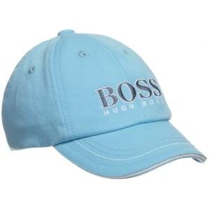 Boss Kids Boss Cap in Baby Blue