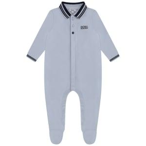 Boss Kids All in One Pyjamas in Baby Blue