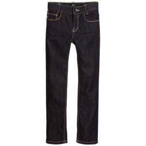 Boss Kids Boss Jeans in Dark Wash