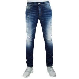 Vivienne Westwood Karnage Jeans in Mid Wash