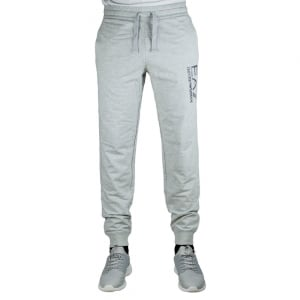 Ea7 Lined Jogging Bottoms in Grey