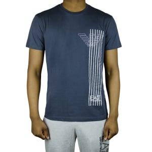 Ea7 Eagle Line T-Shirt in Dark Grey