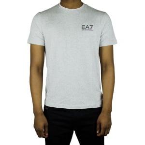 Ea7 Core Logo T-Shirt in Grey
