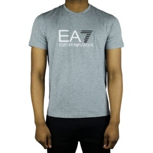 Ea7 Big Logo T-Shirt in Grey