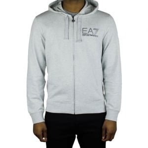 Ea7 Lined Sweatshirt in Grey