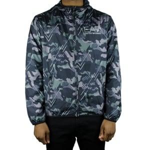 Ea7 Camo Jacket in Green