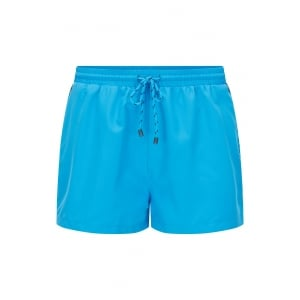 Boss Black Mooneye Swim Shorts in Light Blue