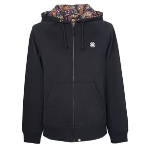 Pretty Green Raynham Sweatshirt in Black