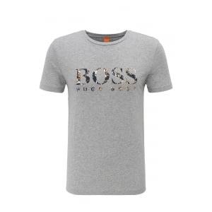 Boss Orange Tacket 1 T-Shirt in Grey