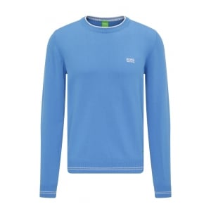 Boss Green Rime_S17 Knitwear in Blue
